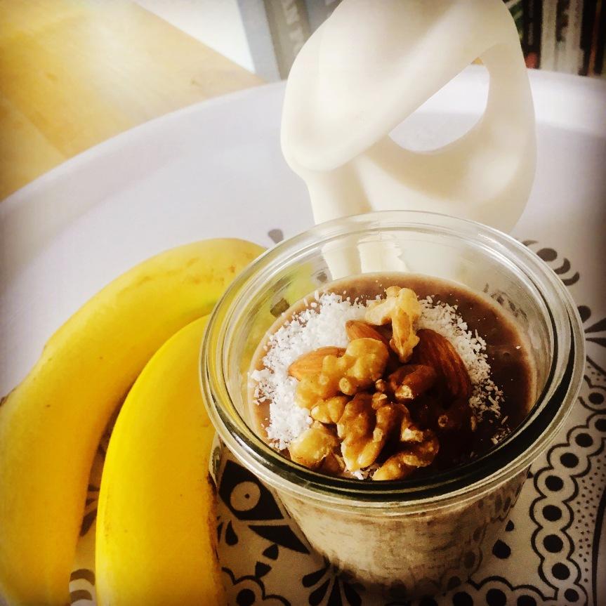Bananen-Chia-Pudding