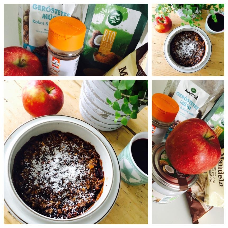 Apfel-Beeren-Crumble