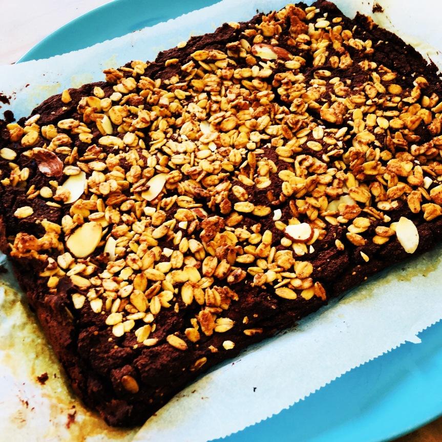 Bohnen-Feigen-Brownies