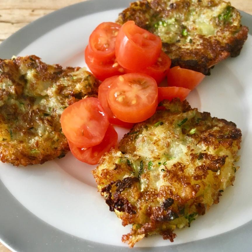 Zucchini-Amaranth-Puffer